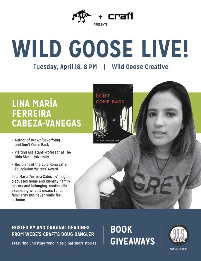 WGC-Wild Goose Live-Flyer-V1